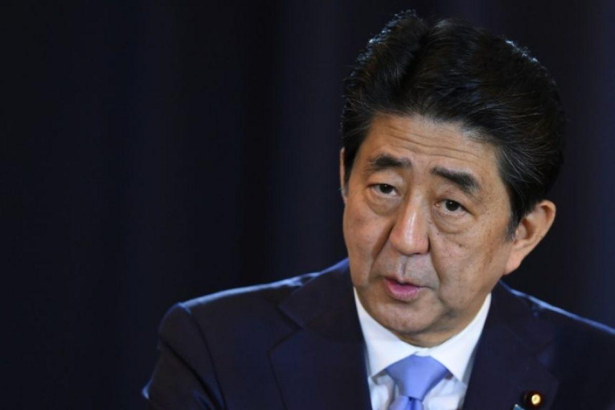El primer ministro japonés Shinzo Abe habla durante una conferencia de prensa en Buenos Aires, el 21 de noviembre de 2016. Foto:EITAN ABRAMOVICH/afp.com