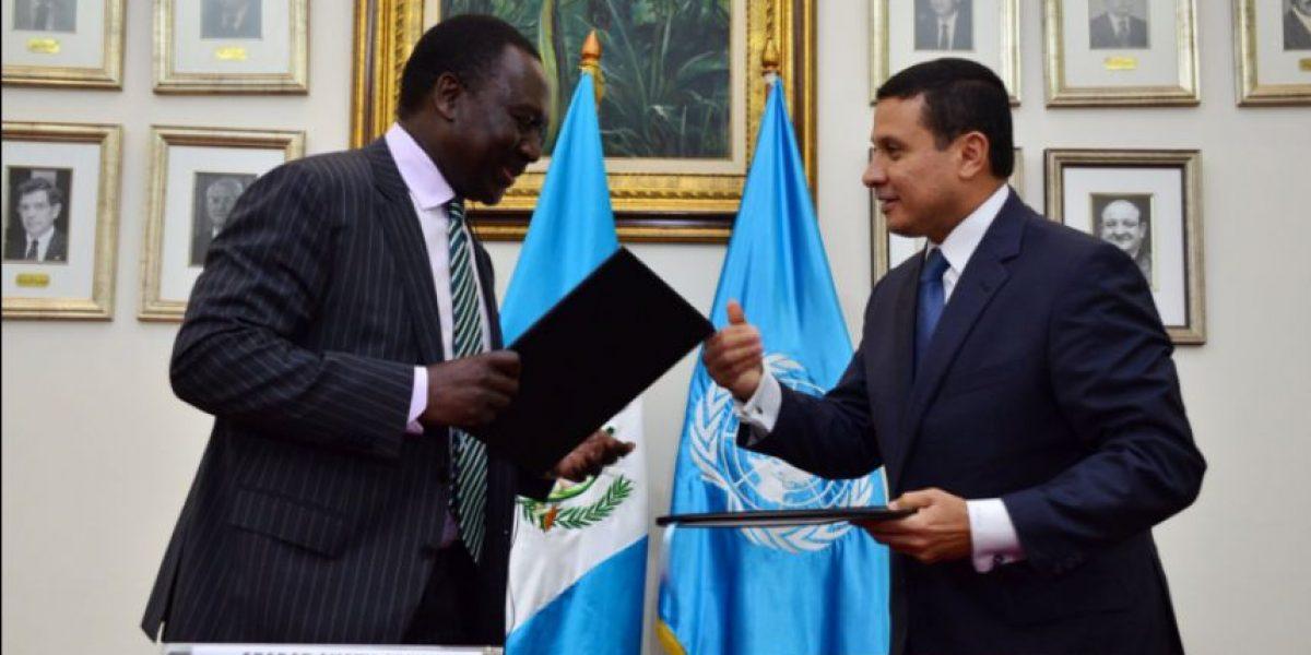 Guatemala y ONU inauguran programa regional para refugiados que huyen de violencia