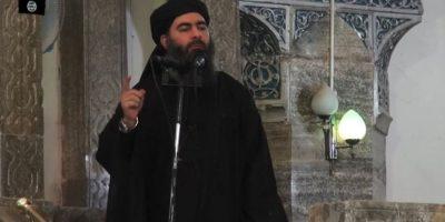 Abu Bakr al Baghdadi, líder del autodenominado Estado Islámico. Foto:AFP