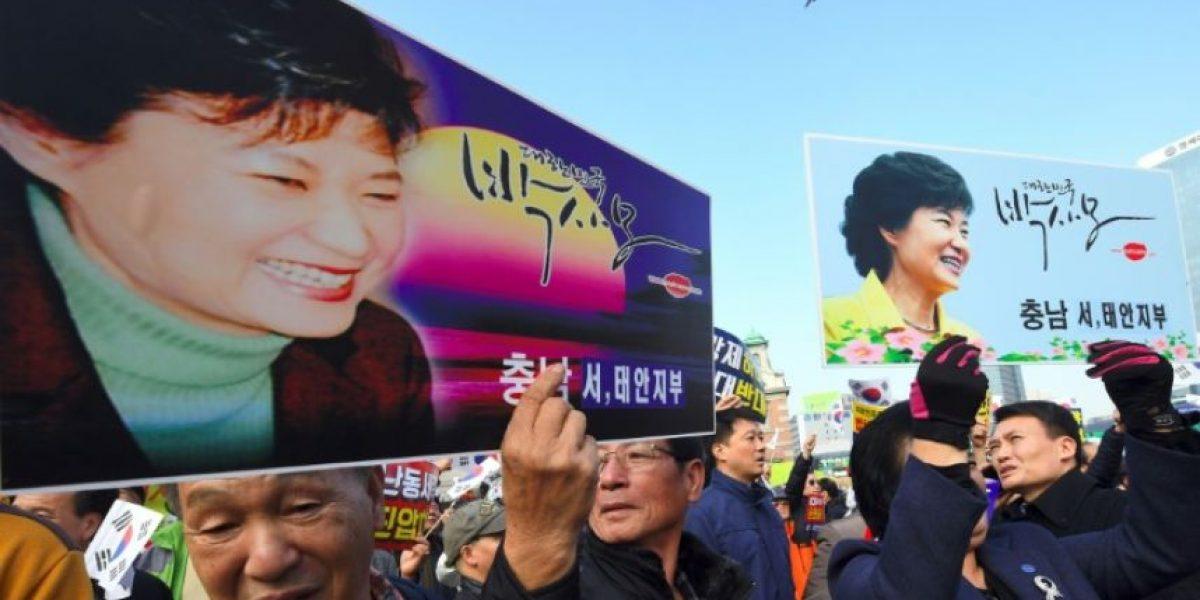 La presidenta surcoreana, sospechosa de la lacra que prometió combatir
