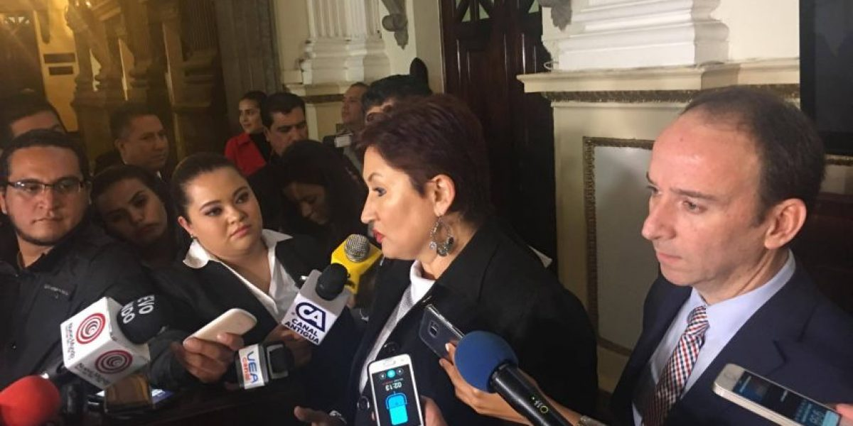 Fiscal General le reitera a diputados que el antejuicio debe ser eliminado