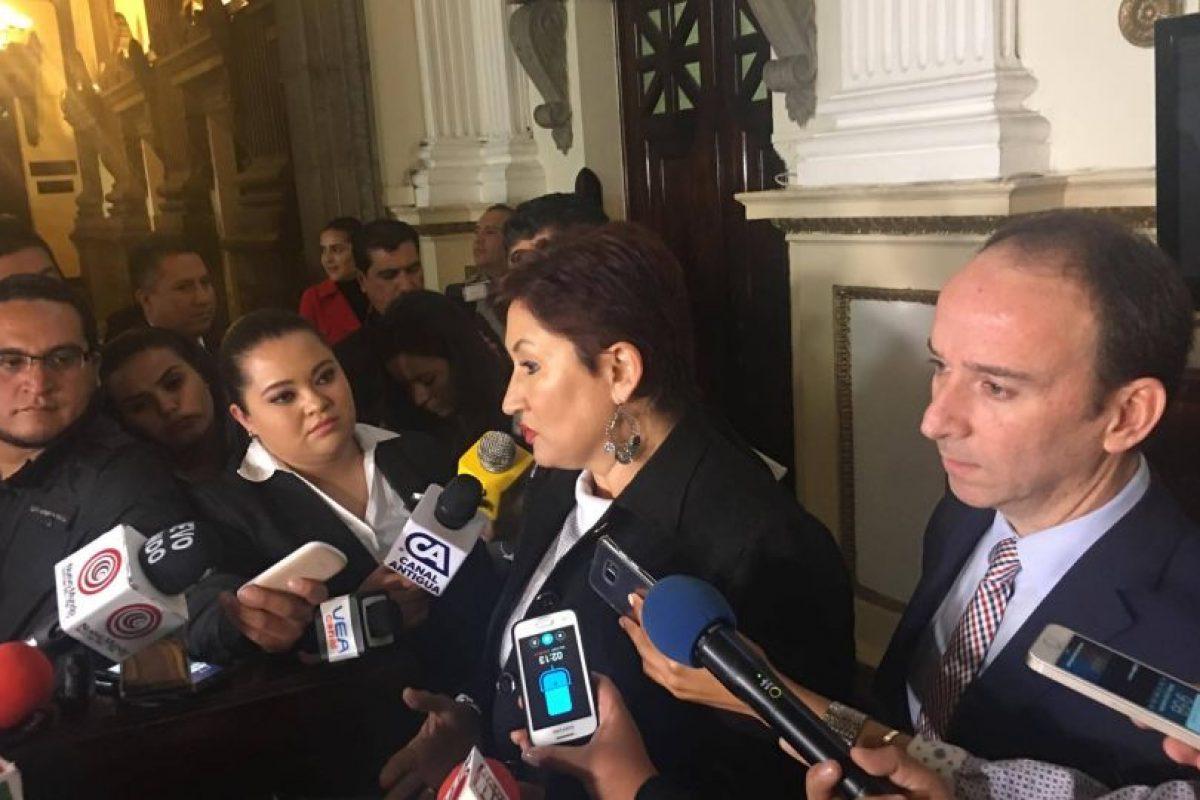 Fiscal General habla Diputados de FCN-Nación escuchar a Fiscal General y al PDH reunión con diputados. Foto:Joel Maldonado