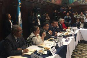 Diputados de FCN-Nación escuchar a Fiscal General y al PDH Foto:Joel Maldonado