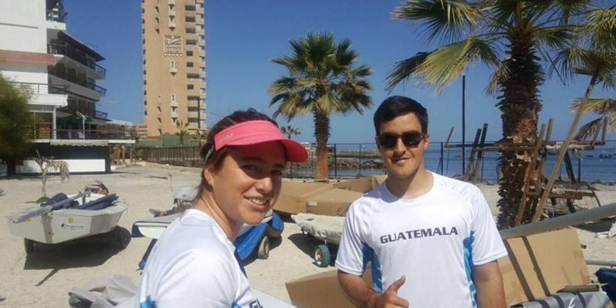 Los primeros guatemaltecos llegan a Chile para los Juegos Bolivarianos de Playa
