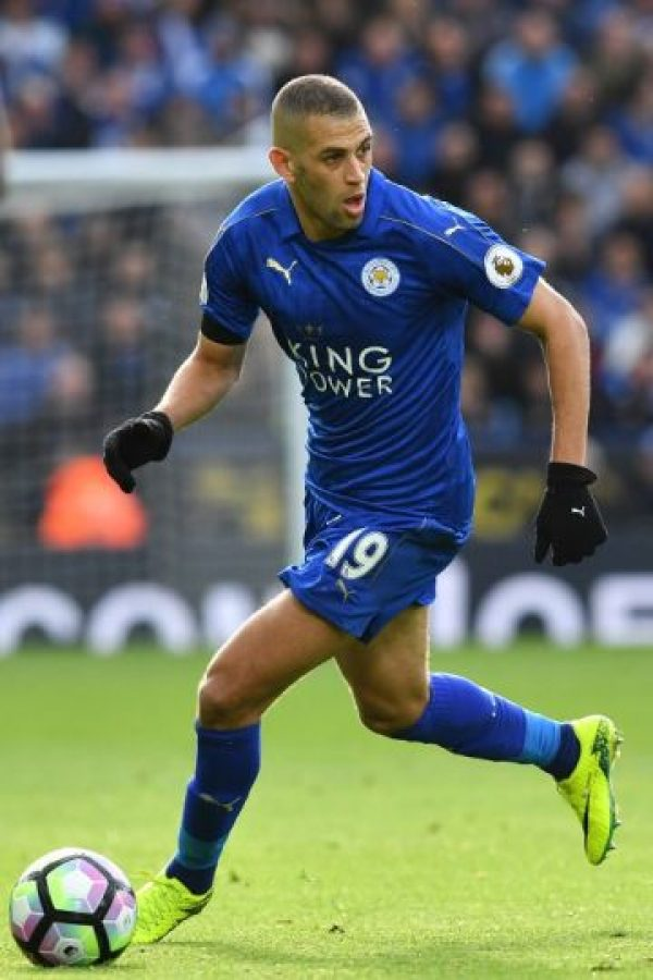 Islam Slimani / Argelia / Leicester City Foto:AFP