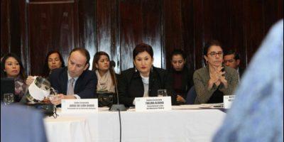 Fiscal General y PDH escuchan dudas de FCN-Nación acerca de reformas constitucionales