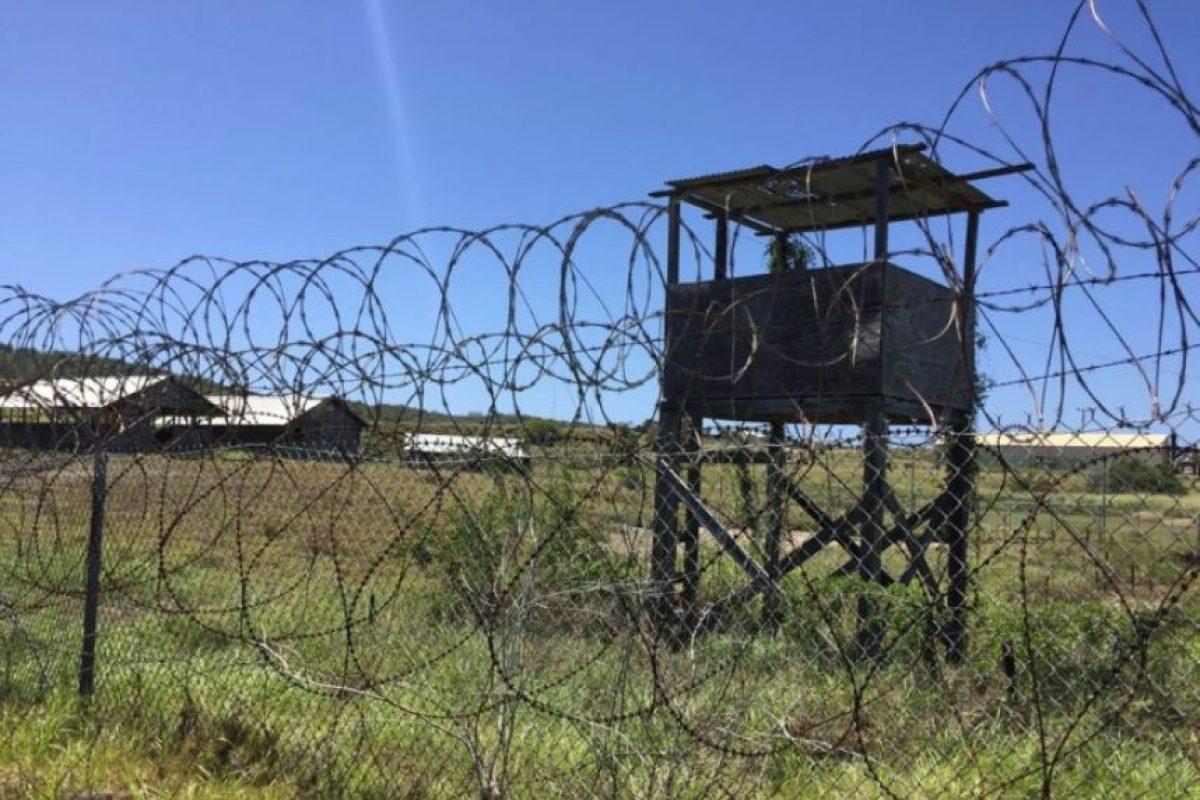 El centro de detención de Estados Unidos en la Bahía de Guantánamo el 9 de marzo de 2016 Foto:Thomas WATKINS/afp.com