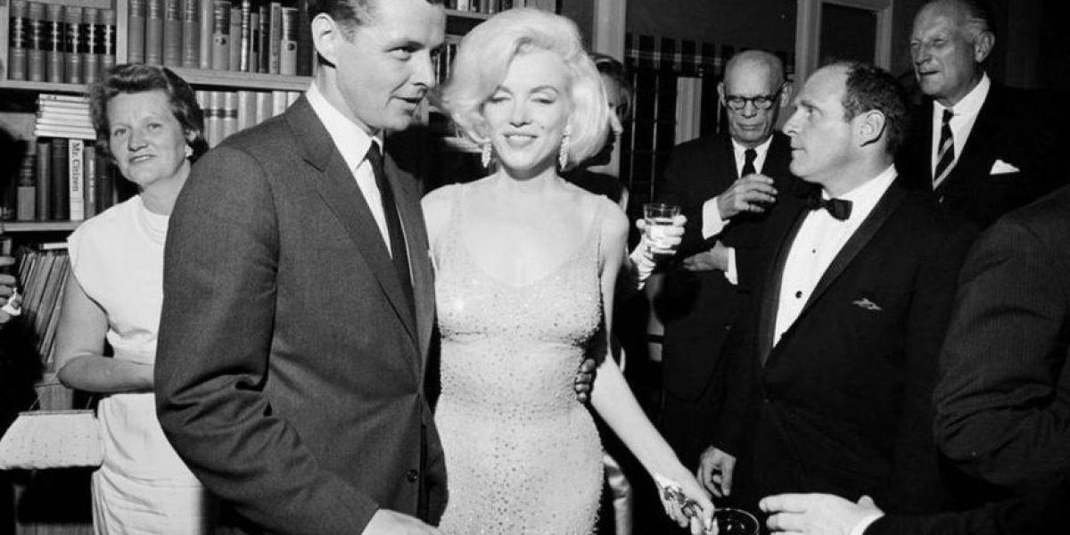 La millonaria cantidad que pagaron por el vestido que usó Marilyn Monroe para cantarle a Kennedy