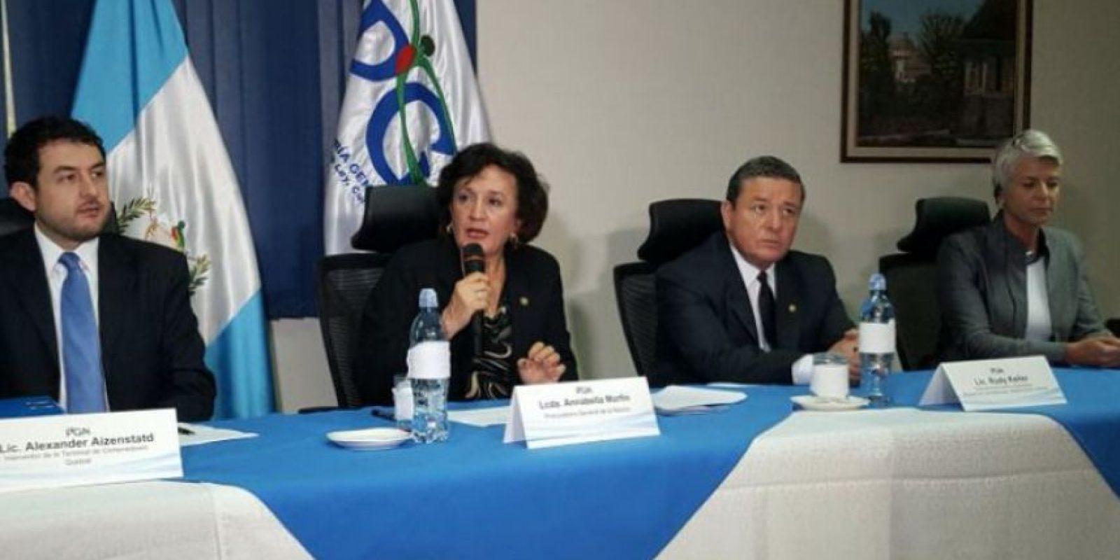 La procuradora de la Nación Anabella Morfín informa sobre los acuerdos para dar una concesión directa Foto:Publinews
