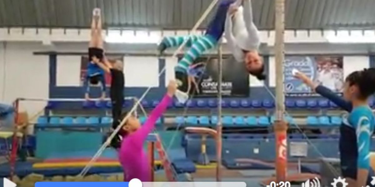 VIDEO. ¡Espectacular! Gimnastas guatemaltecas hacen un vistoso