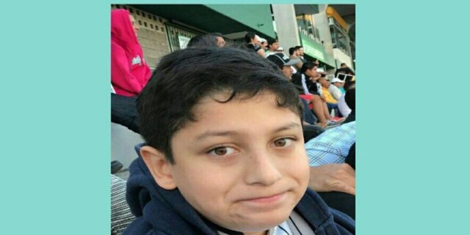 El niño Alejandro José Jovel Linares. Foto:Cortesía