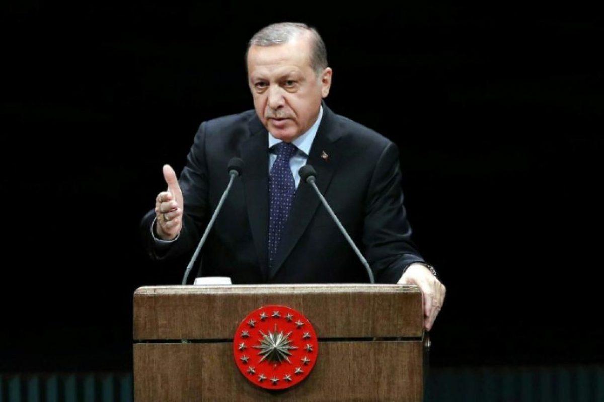 El presidente turco, Recep Tayyip Erdogan, en un discurso en Ankara el 24 de noviembre de 2016 Foto:Adem Altan/afp.com