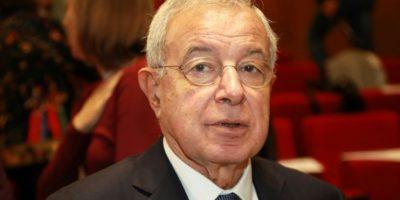 El eurodiputado conservador francés Alain Lamassoure, de 72 años, en una conferencia sobre el futuro económico de la Unión Europea, en París, el 7 de octubre de 2016 Foto:Jacques Demarthon/afp.com