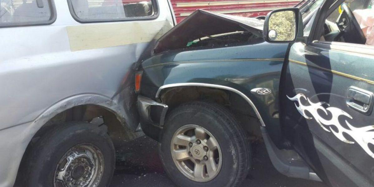 En Guatemala aumentan los accidentes de tránsito, las sanciones, los heridos y los fallecidos