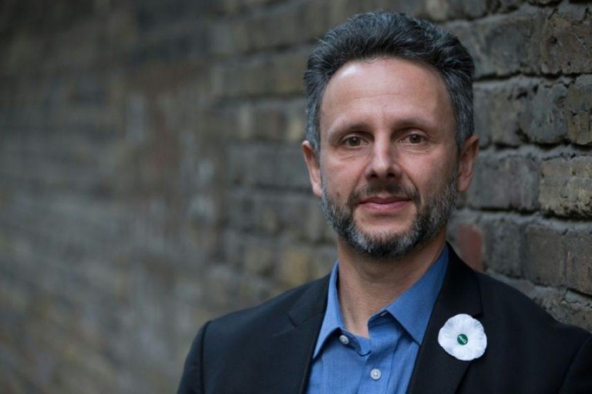 El francés Nicolas Hatton, presidente del grupo de presión 'The3Million', antes de su entrevista con un periodista de AFP en el norte de Londres, el 11 de octubre de 2016 Foto:Daniel Leal-Olivas/afp.com