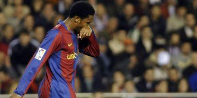 Samuel Eto'o jugó para el Barcelona entre 2004 y 2009. Foto:AFP