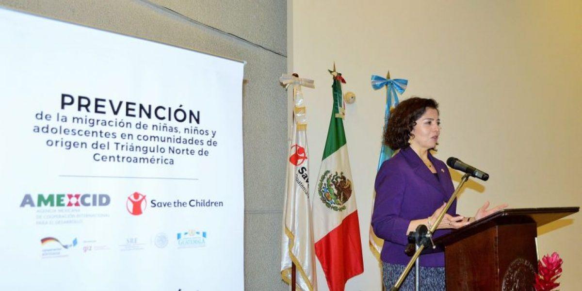 Presentan proyecto de prevención de migración de niños de origen del Triángulo Norte