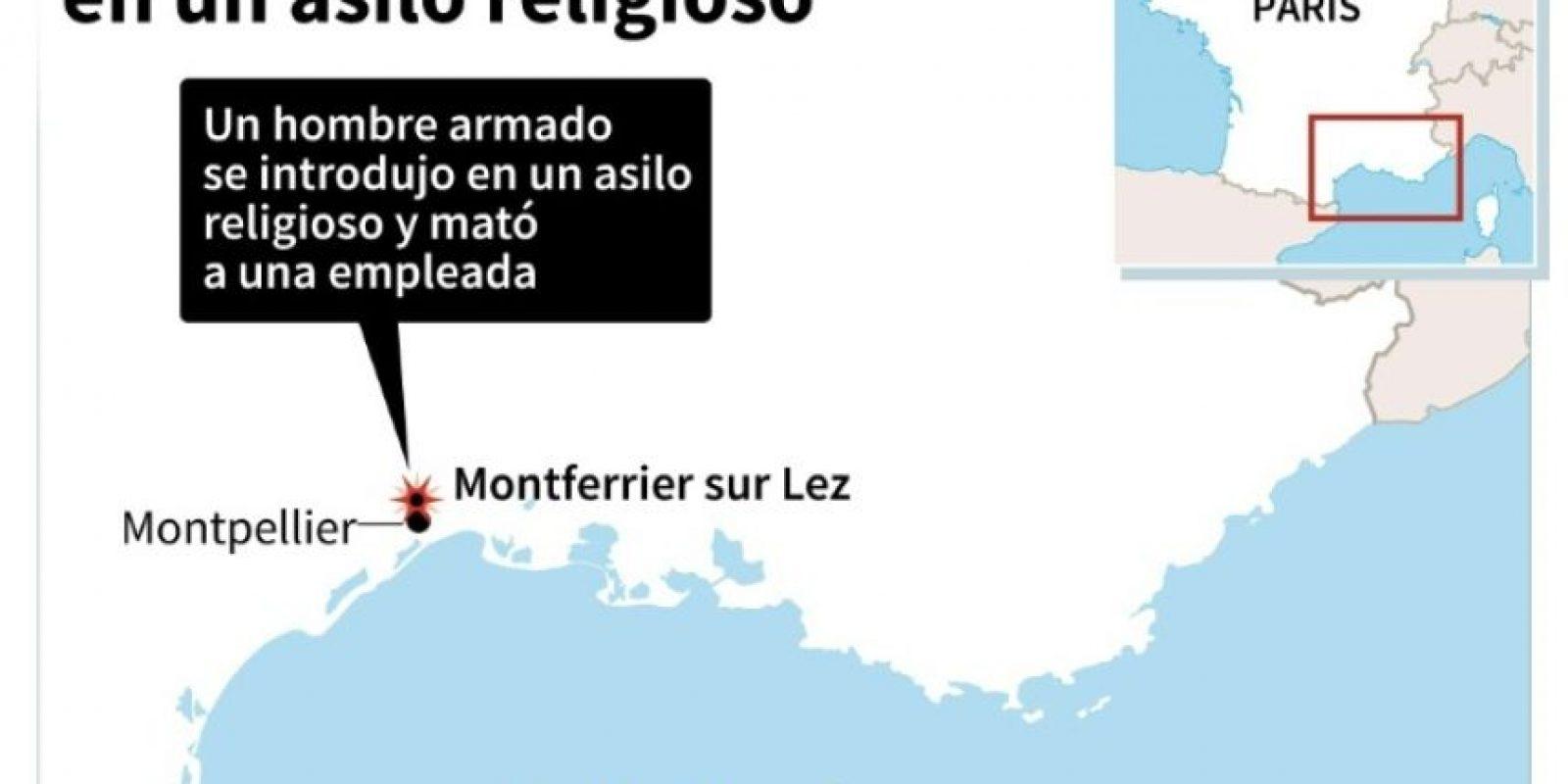 Una mujer asesinada en un asilo religioso en Francia Foto:AFP/afp.com