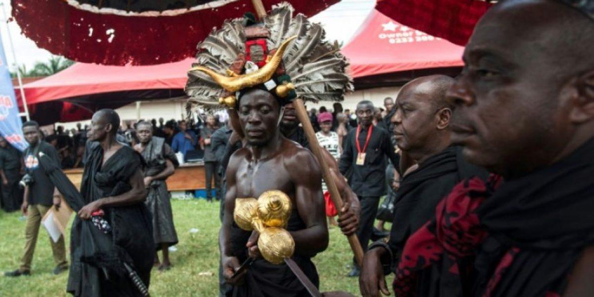 Ghana llora a la reina madre de los ashanti