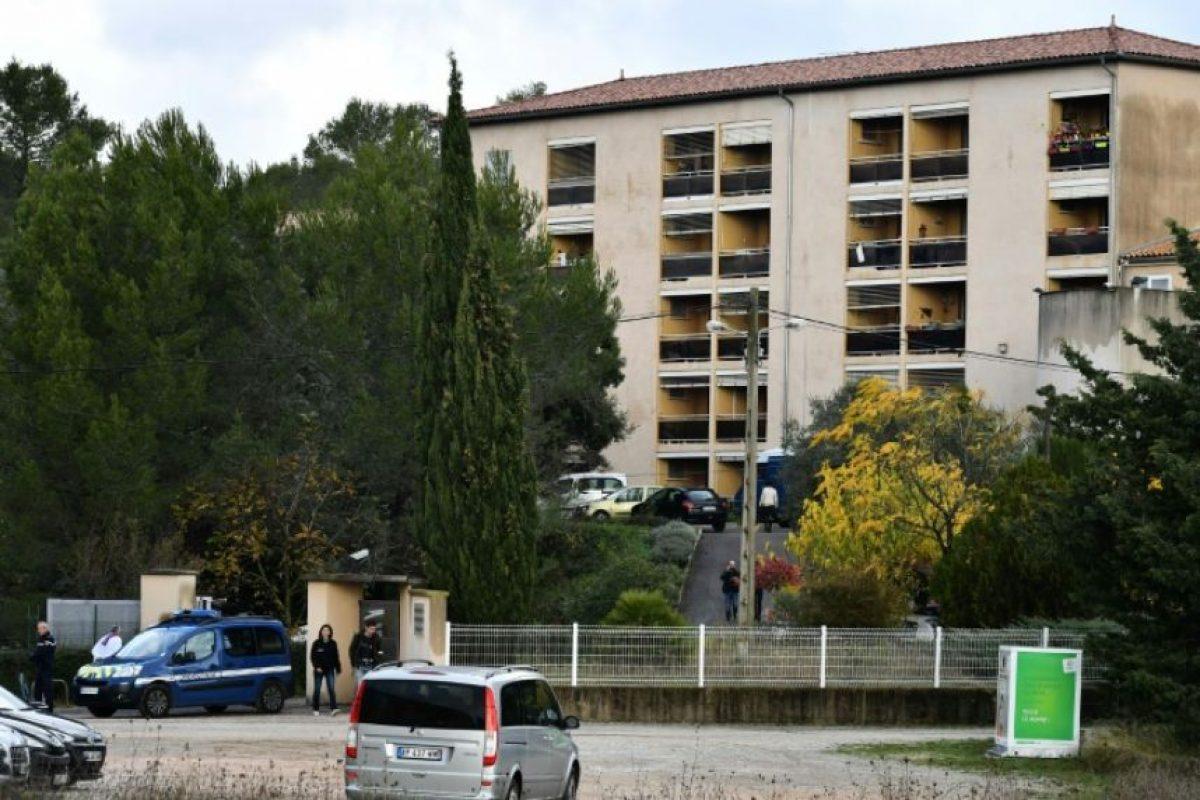 La residencia de misioneros en Montferrier-sur-Lez, en el sur de Francia, en la que un hombre mató a una empleada, fotografiada el 25 de noviembre de 2016 Foto:Pascal Guyot/afp.com