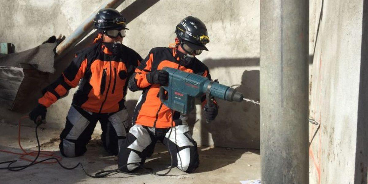 FOTOS. Simulacro de búsqueda y rescate se desarrolla en Chimaltenango