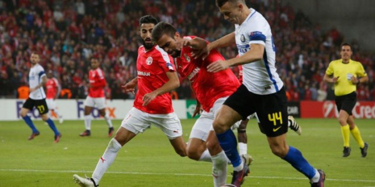 Inter se despide de la Liga Europa tras caer ante Hapoel