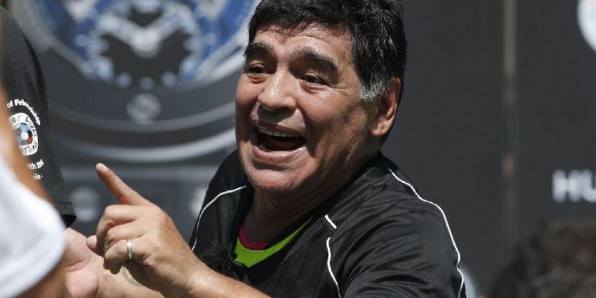 Maradona envía un mensaje a Argentina previo a la final de la Copa Davis