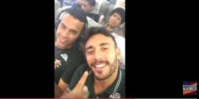 Video de Alan Ruschel en el avión previo al accidente da la vuelta al mundo