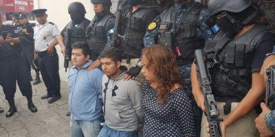 Los supuestos secuestradores. Foto:Cortesía