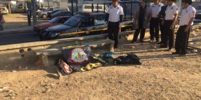 Localizan restos humanos en campo de fútbol cercano a sede de PNC