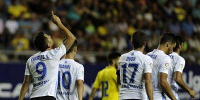 En la imagen, jugadores del Málaga Foto:AFP