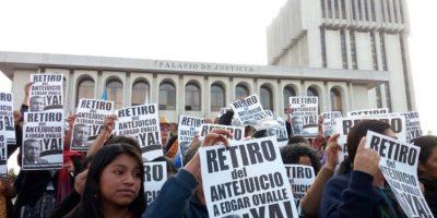 Protesta Foto:Cortesía