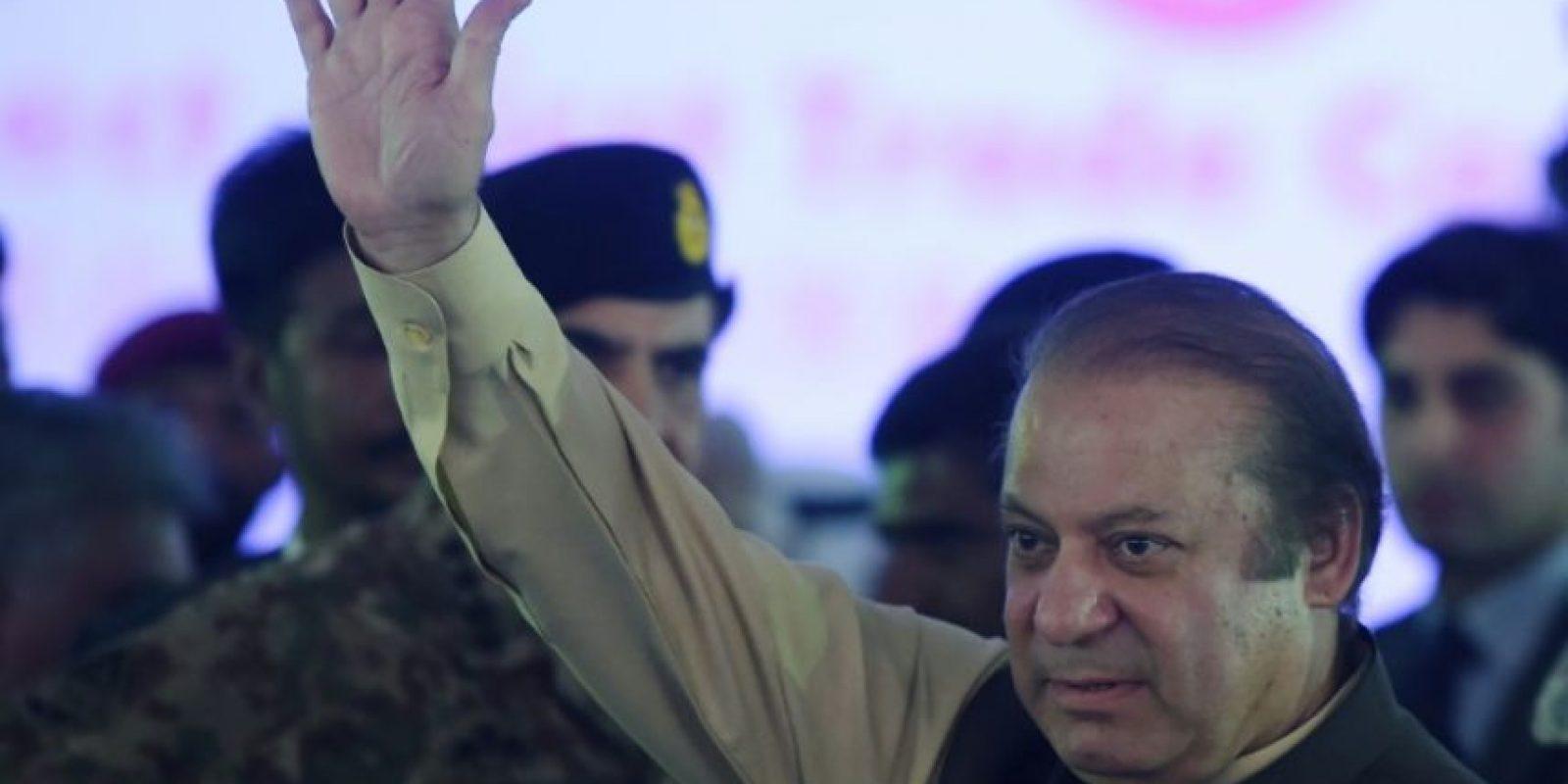 El primer ministro paquistaní, Nawaz Sharif, acude a una ceremonia en el puerto de Gwadar (Pakistán), el 13 de noviembre de 2016 Foto:Aamir Qureshi/afp.com
