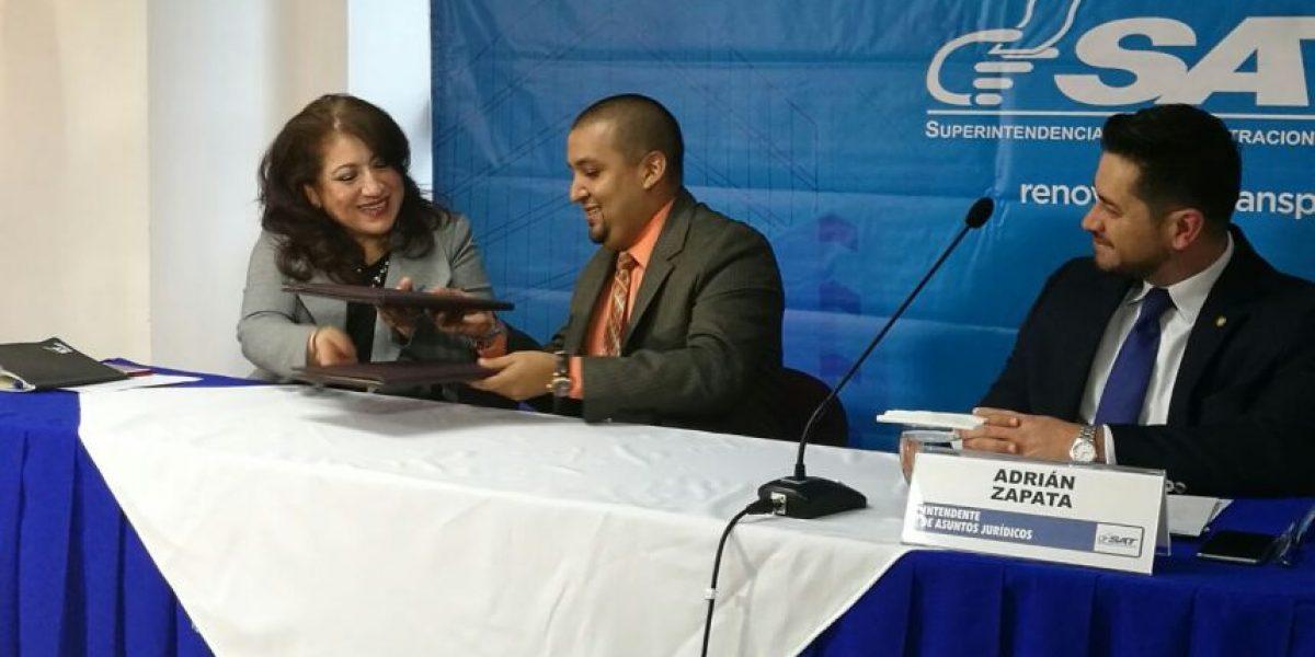 SAT firma convenio para elaborar proyectos de infraestructura por medio de alianzas público privadas