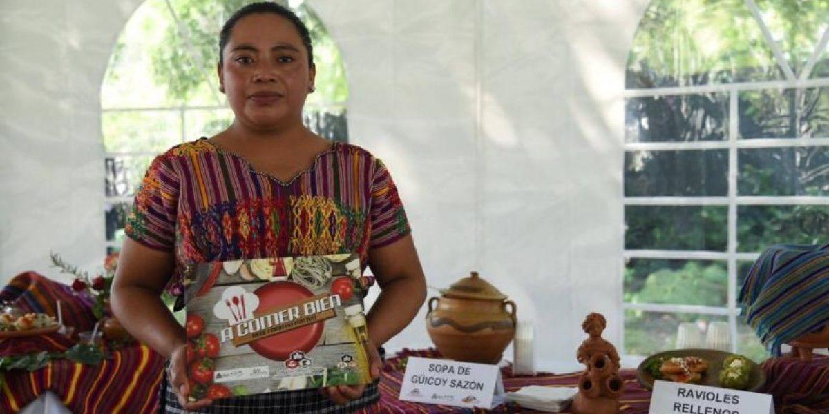 Crean recetas para ayudar a reducir la desnutrición infantil en San Juan Sacatepéquez