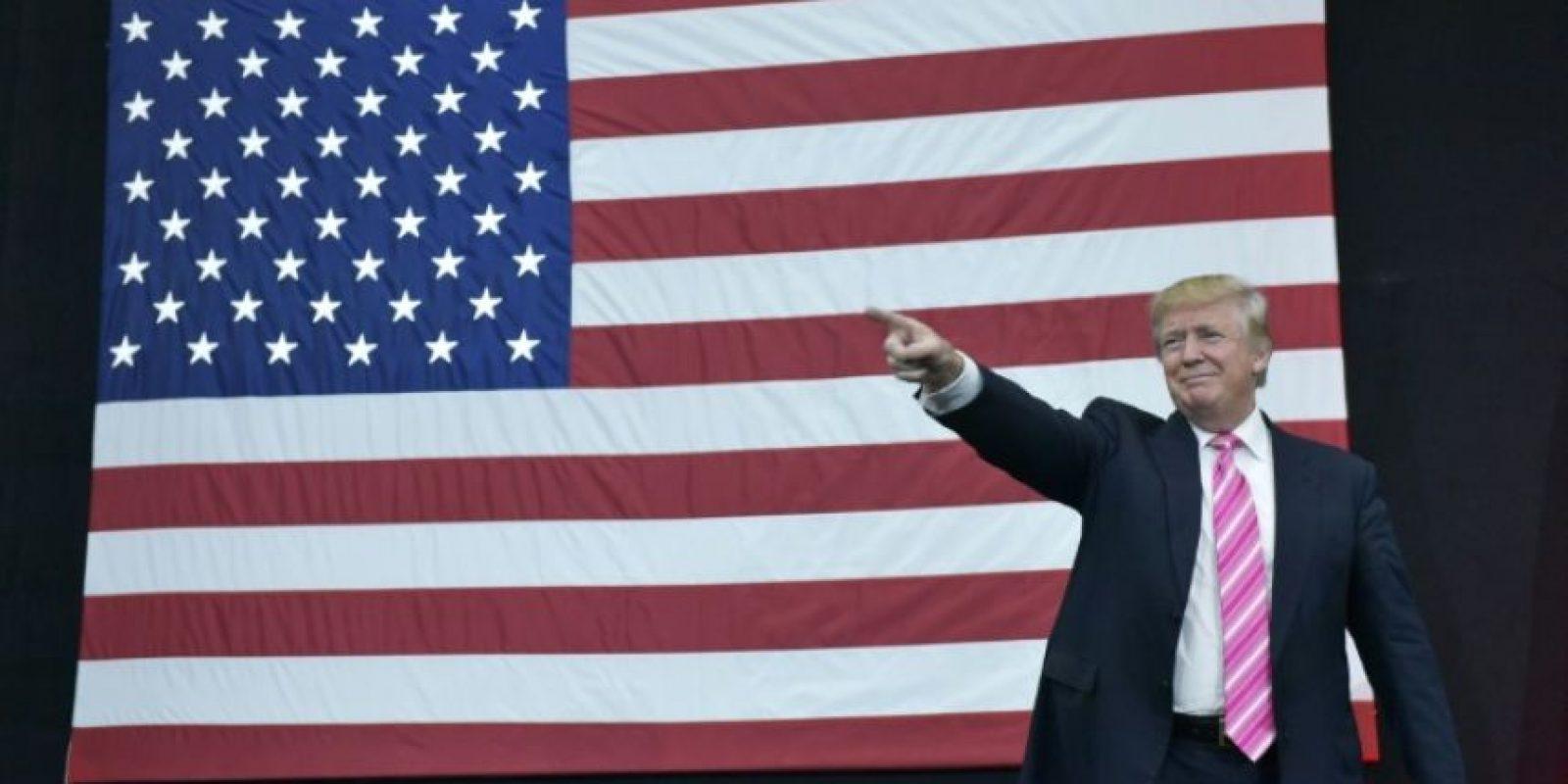 El entonces candidato presidencial republicano estadounidense, Donald Trump, el 2 de octubre de 2016 a su llegada a un mítin en Manheim, Pensilvania. Trump ha sido acusado de populista, pero los expertos no se ponen de acuerdo en si lo es o no Foto:Mandel Ngan/afp.com