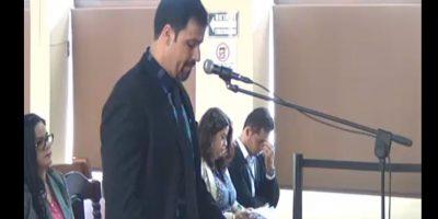Abogado del procesado Rudy Gallardo Foto:Cortesía