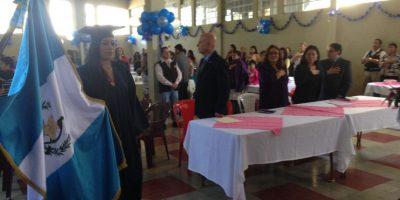 Acto de graduación tras las rejas. Foto:SP