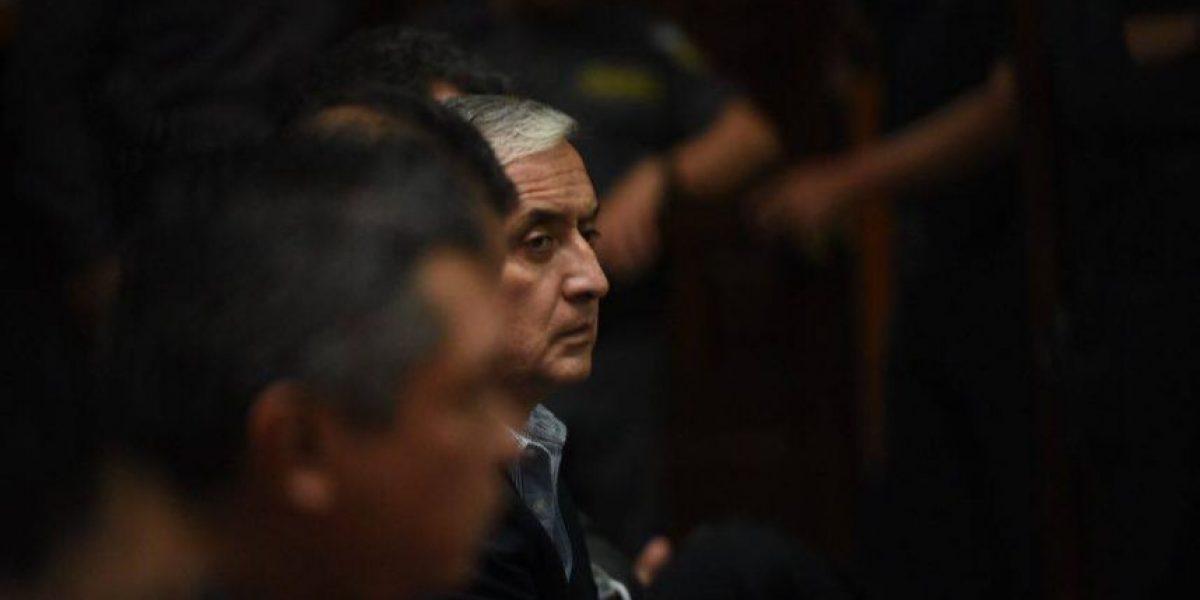 Encarcelado expresidente Otto Pérez pasó segundo cumpleaños tras las rejas