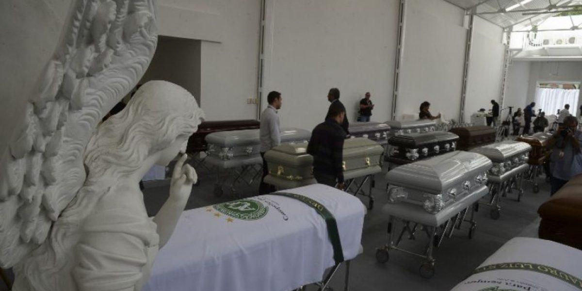Comienza repatriación de cuerpos de jugadores de Chapecoense