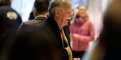 El ex embajador de Estados Unidos en Naciones Unidas John Bolton llega a la Torre Trump en Nueva York para reunirse con el presidente electo estadounidense, Donald Trump, el 2 de diciembre de 2016 Foto:Dominick Reuter/afp.com