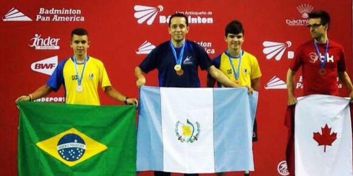 El guatemalteco que volvió a ser el mejor de América con la raqueta