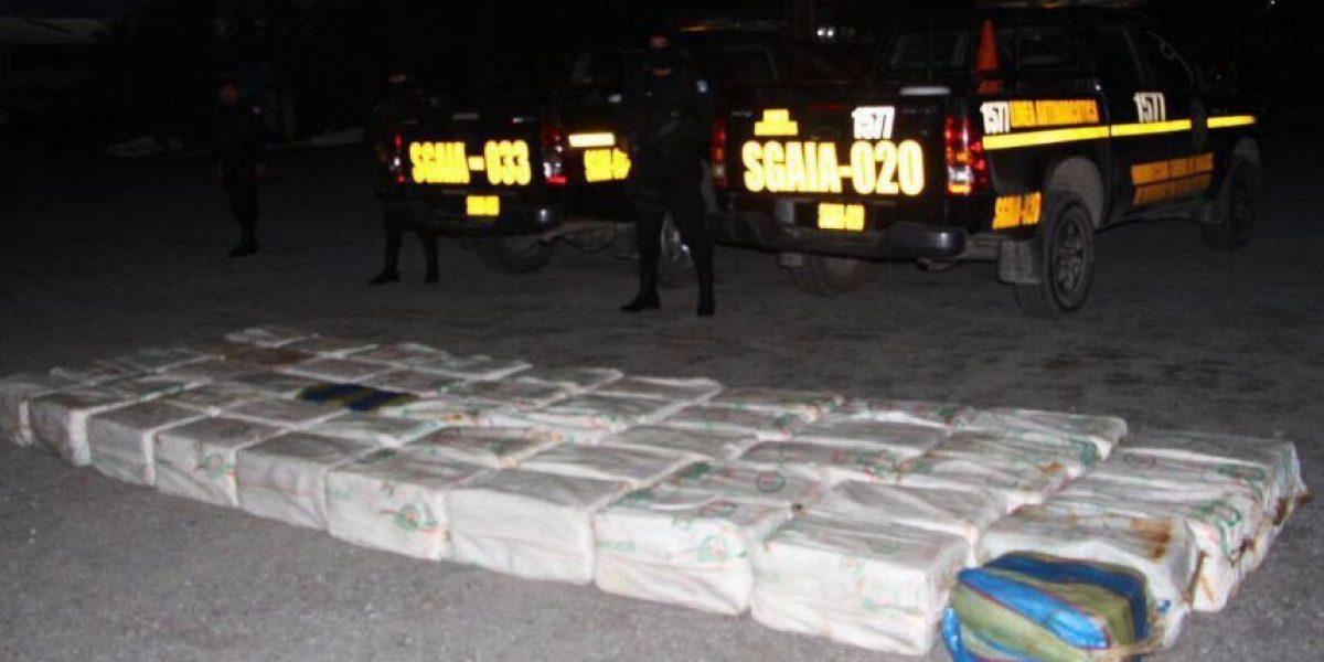 Cocaína incautada en el Atlántico está valorada en Q168 millones