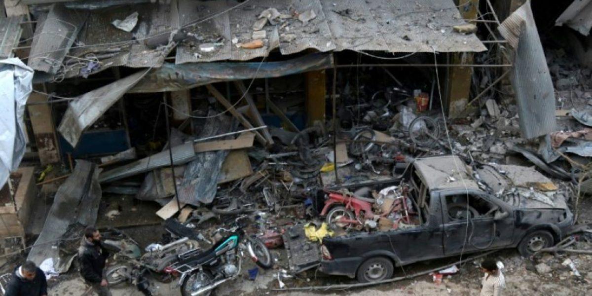 Supuestos bombardeos rusos dejan 46 muertos en la provincia siria de Idleb