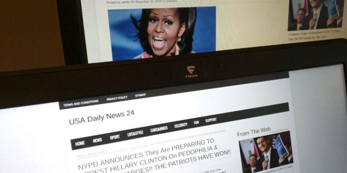 Joven muestra la lucrativa industria de las noticias falsas