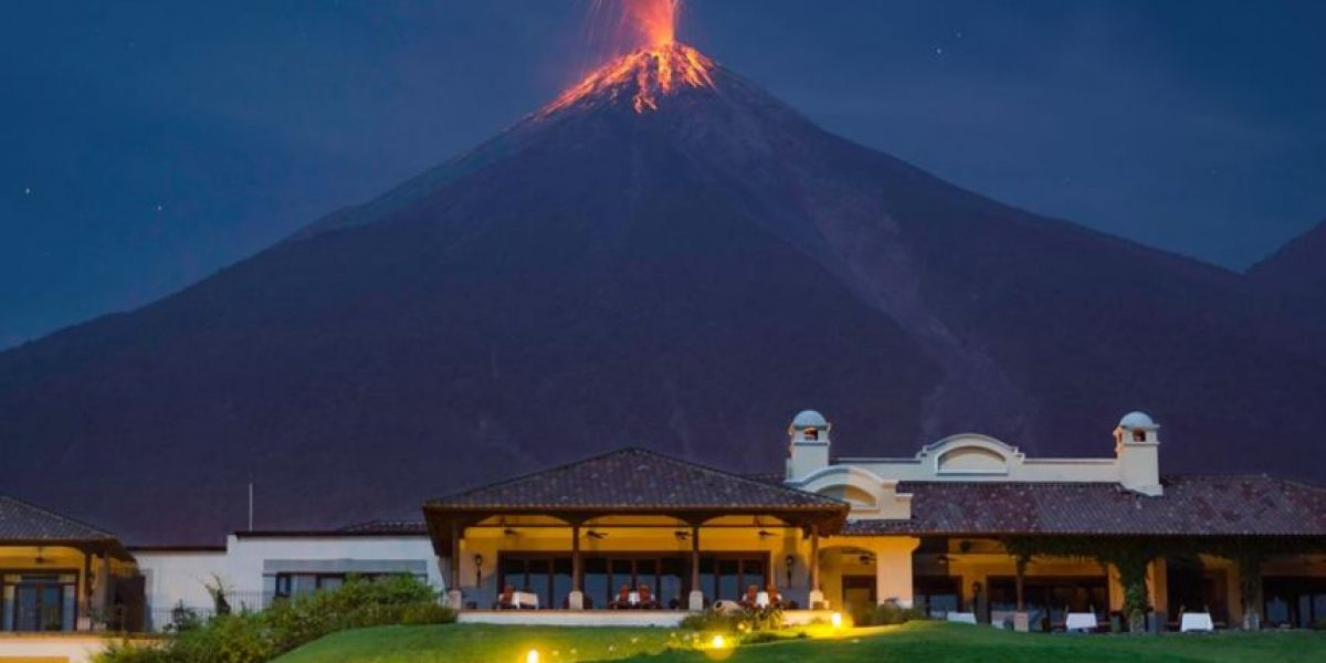 Volcán de Fuego registra nueve explosiones