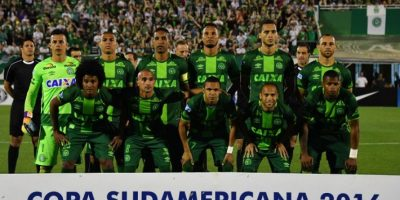 Finalmente el título que iba a disputar con el Atlético Nacional colombiano quedó en poder del Chapecoense. Foto:AFP