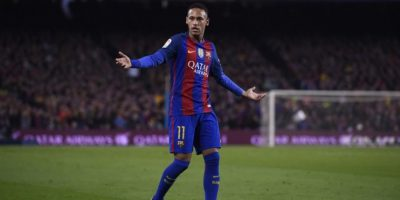 El tridente ofensivo del club azulgrana se verá disminuido en un partido por la Liga de Campeones y otro por la Liga española. Foto:AFP
