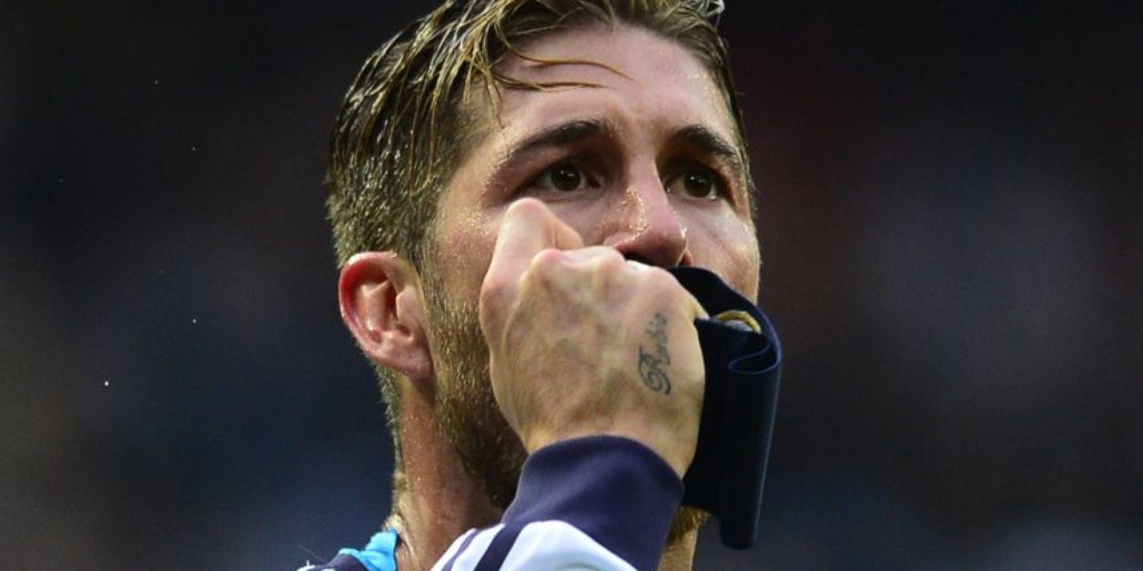 El capitán del Madrid ha marcado con la cabeza anotaciones clave para su equipo. Foto:AFP