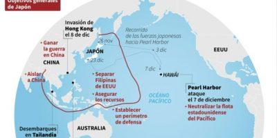 La guerra del Pacífico de 1941 Foto:John SAEKI, Laurence CHU/afp.com